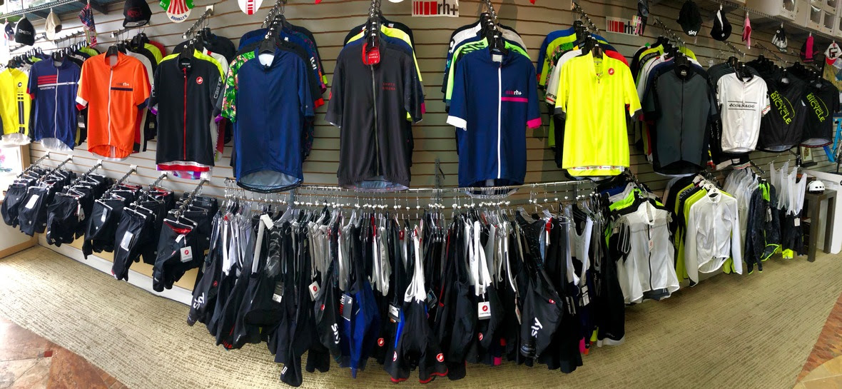 San Diego's Largest Selection of Cycling Apparel