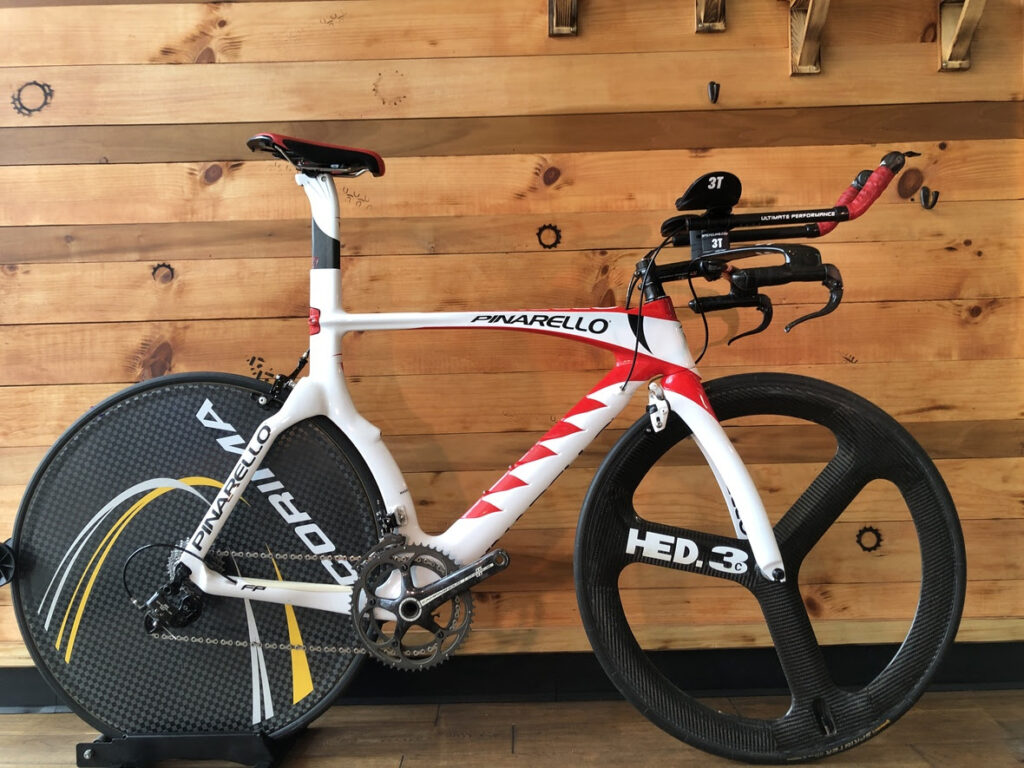 Custom Pinarello TT Bike